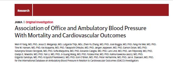 Doctor Wenyi Yang from Department of Cardiology of Our Hospital Publishes Research Result on JAMA