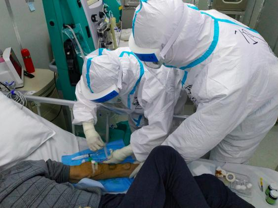 Medical Team from Shanghai General Hospital Work Around the Clock and the Multi-disciplinary Cooperation Turn the Corner